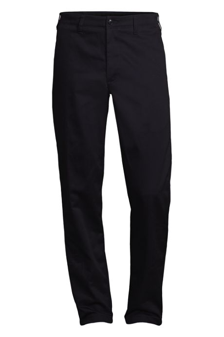 Men's Tailored Fit Plain Front Chino Pants