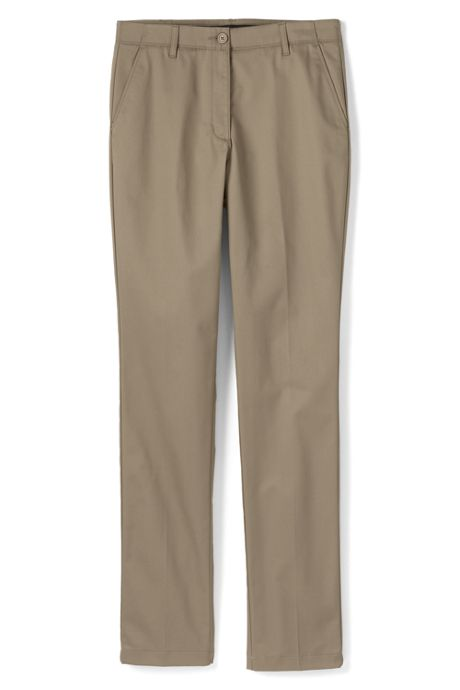 Women's Slim Leg Chino Pants