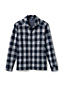 Aufgebürstete Jacquard-Hemdjacke für Herren