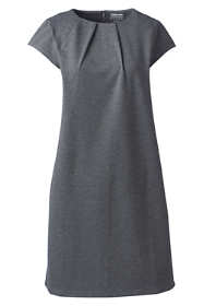 Women's Short Sleeve Ponte Dress