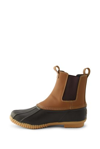 Men's Insulated Flannel Lined Chelsea Duck Boots