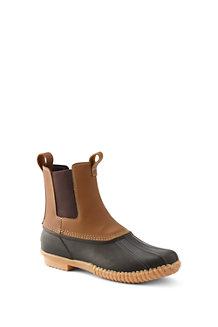 Men's Flannel Lined Chelsea Duck Boots