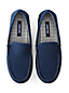 Men's Flannel Lined Suede Moccasin Slippers