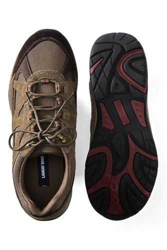 Men's Trekker Suede Leather Hiking Shoes