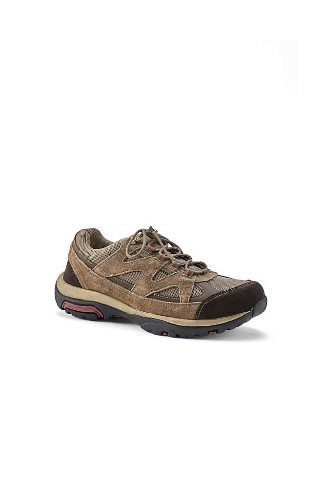 Men's Trekker Suede Leather Hiking Shoes, Front
