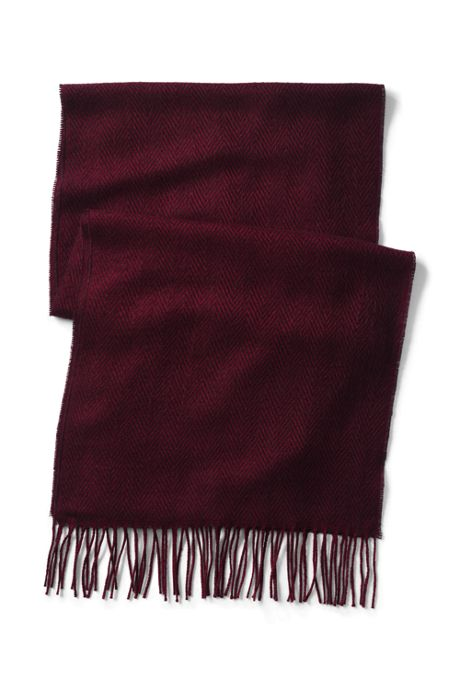 Women's Herringbone CashTouch Winter Scarf