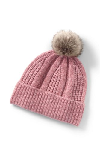 Women's Lightweight  Winter Bobble Hat