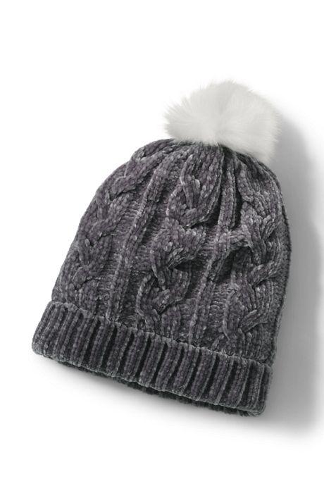 Women's Chenille Winter Beanie Hat