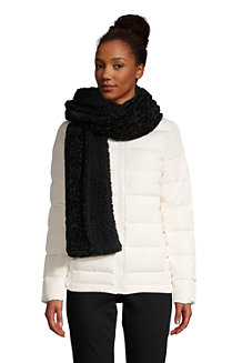 Women's Chenille Sherpa-lined Scarf