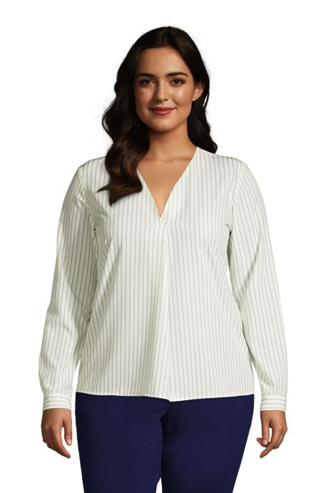 Women's Plus Size Commuter Shirt