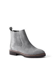 Chelsea-Boots mit Profilsohle für Damen