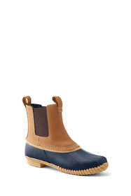Women's Insulated Flannel Lined Chelsea Duck Boots