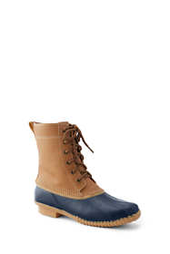 Women's Insulated Flannel Lined Duck Boots
