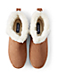 Women's Suede Leather Bootie House Slippers