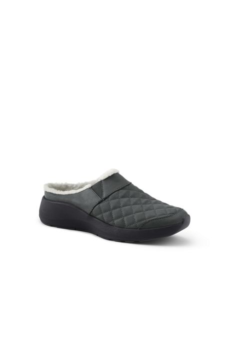 Women's Lightweight Comfort Quilted Slip On Clog Shoes