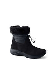 Women's Wide Width All Weather Insulated Cuffed Winter Snow Boots