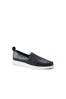 Komfort-Slipper aus Leder für Damen