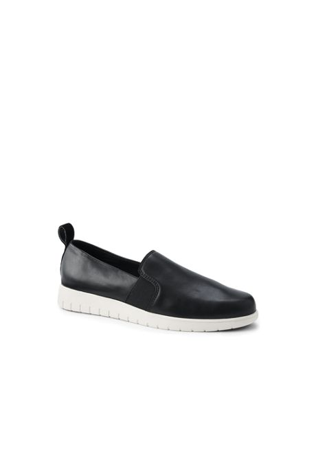 Women's Comfort Suede Leather Slip On Shoes