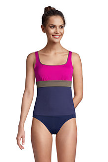 Women's Square Neck Tankini Top