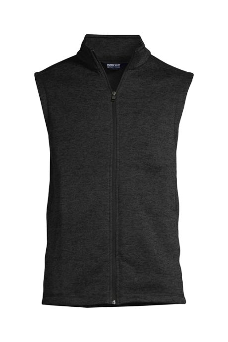 Men's Custom Embroidered Sweater Fleece Vest