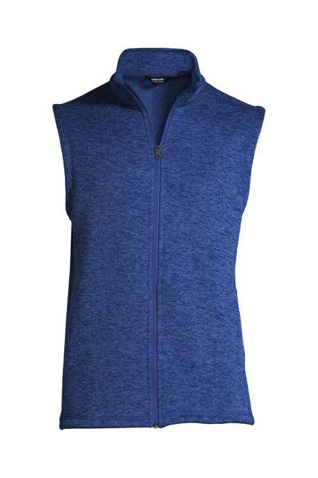 Men's Custom Embroidered Sweater Fleece Vest