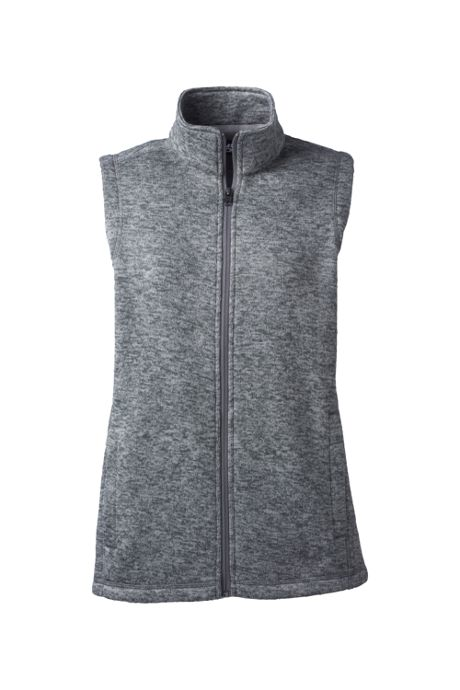 Women's Plus Size Sweater Fleece Vest