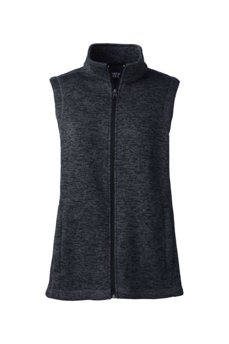 Women's Custom Logo Sweater Fleece Vest