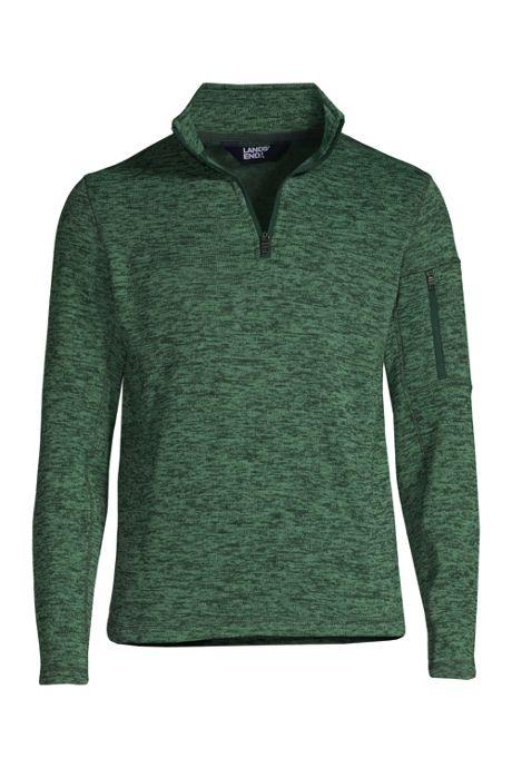 Men's Custom Embroidered Sweater Fleece Quarter Zip Pullover