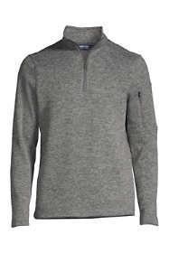 Men's Big Sweater Fleece Quarter Zip Pullover