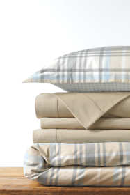 Supima Cotton Flannel Duvet Cover - 6 oz.