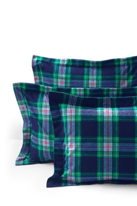Supima Cotton Flannel Sham - 6 oz