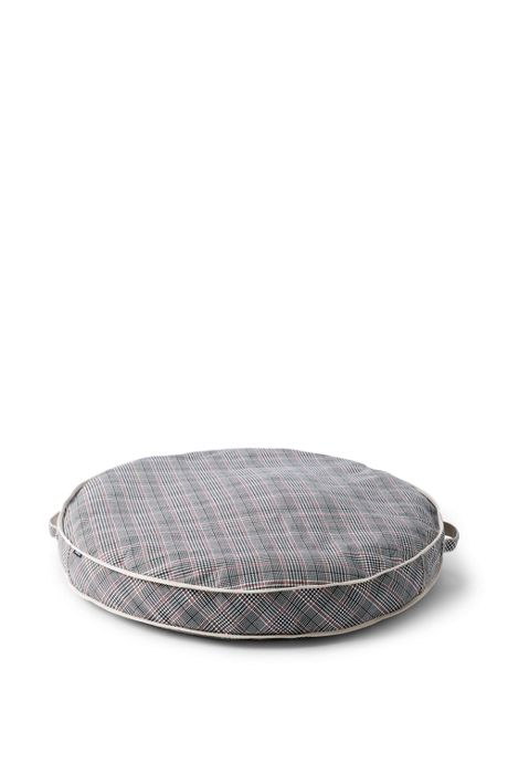 Printed Canvas Round Dog Bed Cover
