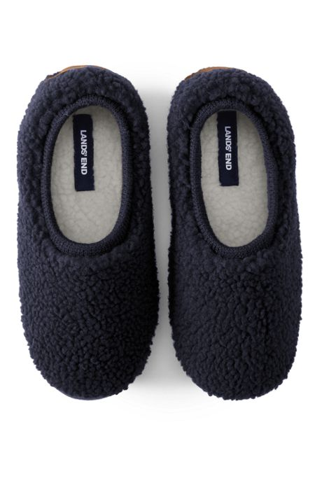 Women's Sherpa Fleece Ballet House Slippers