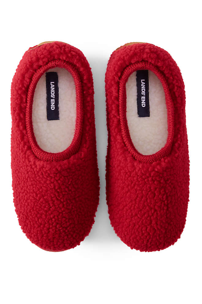 Women's Sherpa Fleece Ballet House Slippers, Front