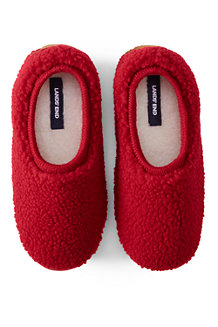 Women's Sherpa Fleece Ballet Slippers