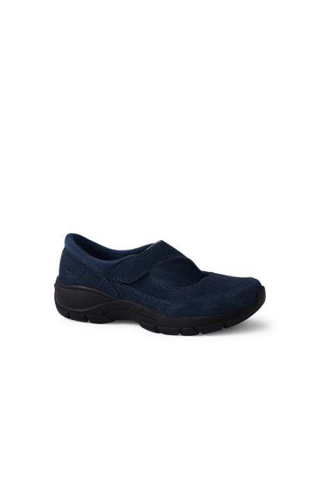 Women's All Weather Suede Leather Mary Jane Shoes