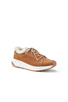Komfort-Sneaker aus Leder oder Veloursleder für Damen