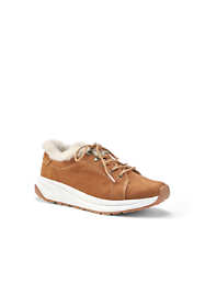 Women's Comfort Cozy Suede Leather Sneakers