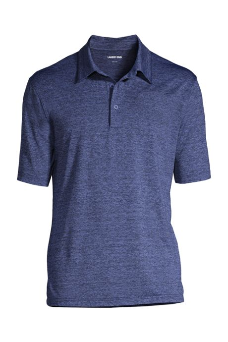 Men's Rapid Dry Space Dye Polo Shirt