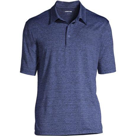 Men's Rapid Dry Space Dye Polo Shirt