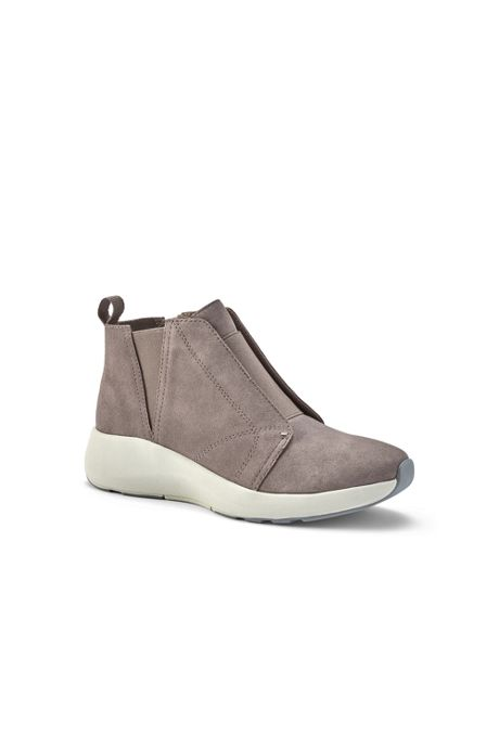 Women's Lightweight Comfort Suede Leather Ankle Booties