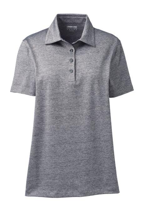 Women's Rapid Dry Space Dye Polo Shirt