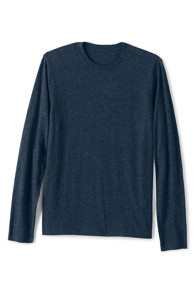 Men's Slub Long Sleeve T-Shirt, Front
