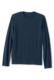 Men's Big and Tall Slub Long Sleeve T-Shirt