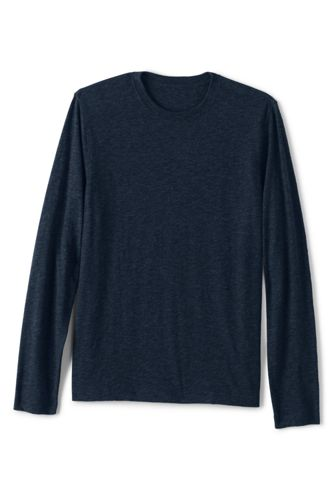 Men's Long Sleeve Slub Jersey T-shirt