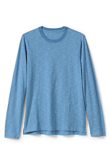 Langarm-Shirt aus Slub-Jersey für Herren, Classic Fit