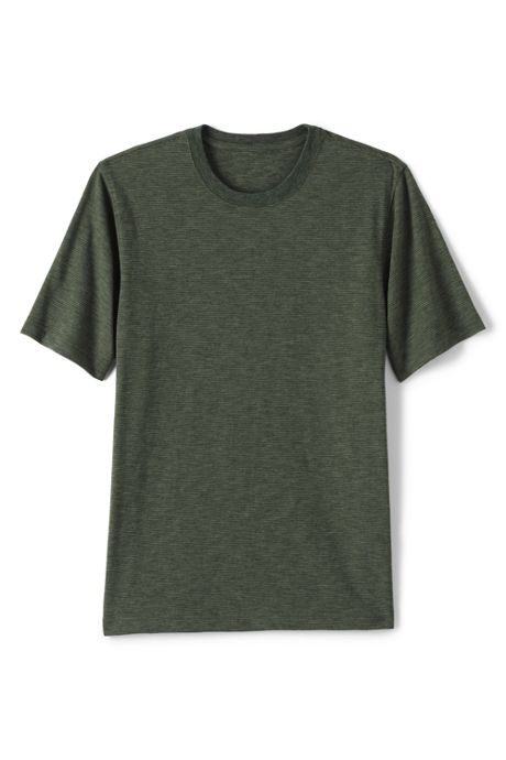 Men's Big and Tall Slub Short Sleeve T-Shirt