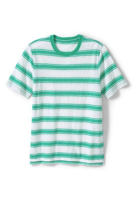 Men's Big and Tall Slub Short Sleeve T-Shirt
