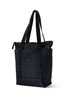 Medium Zip Top Quilted Tote Bag