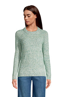 Women's Raglan Sleeve Crew Neck Jumper